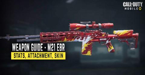 M21 EBR Weapon Stats, Attachment, & Skin