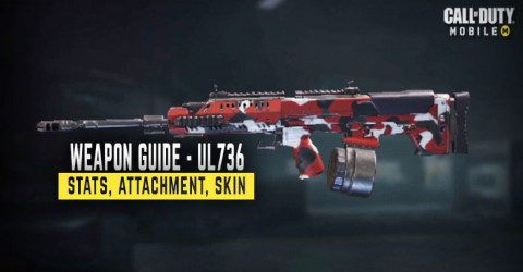 UL736 Weapon Stats, Attachment, & Skin