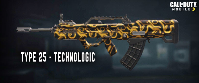 Type 25 Assault Rifle Call Of Duty Mobile Zilliongamer