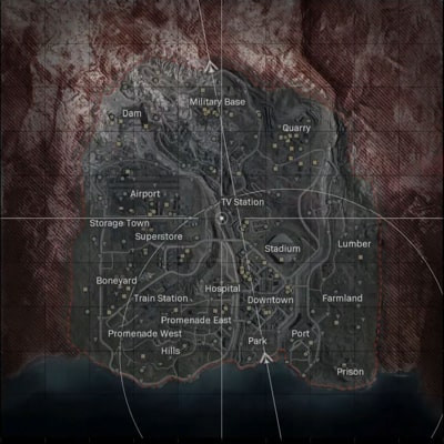Call of Duty Warzone Map Location - zilliongamer