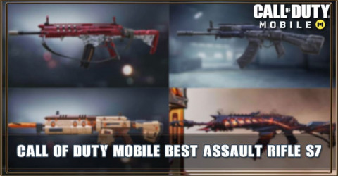 Best Assault Rifle in Call of Duty Mobile Season 7