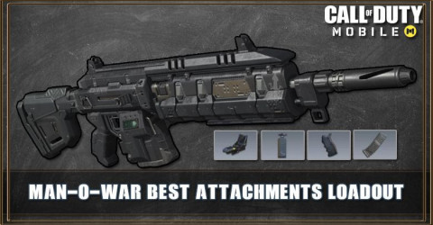COD Mobile Man-O-War Best Attachments Builds