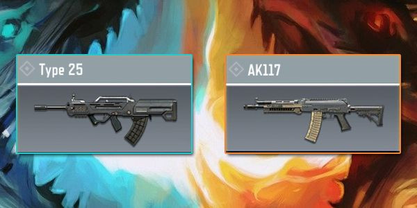 Find out the comparison of AK117 and Type 25 in COD Mobile here.