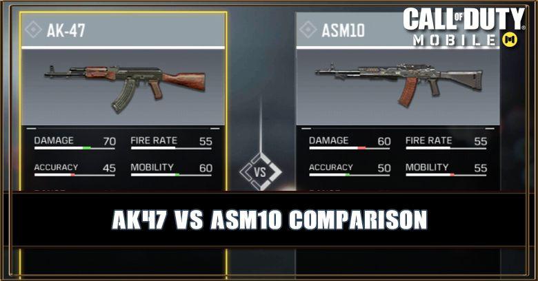 AK47 VS ASM10 Comparison