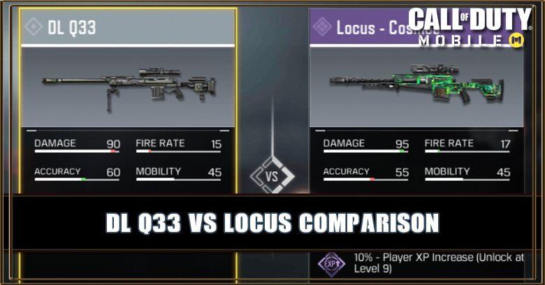 DL Q33 VS Locus Comparison