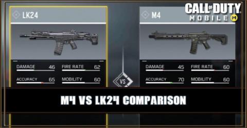 M4 VS LK24 Comparison