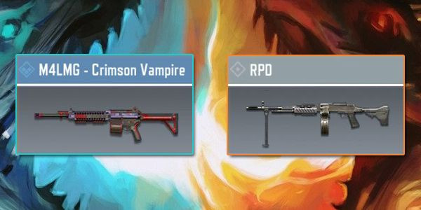 Find out the comparison of M4LMG and RPD in COD Mobile here.
