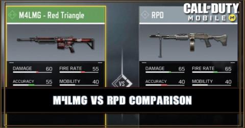 M4LMG VS RPD Comparison