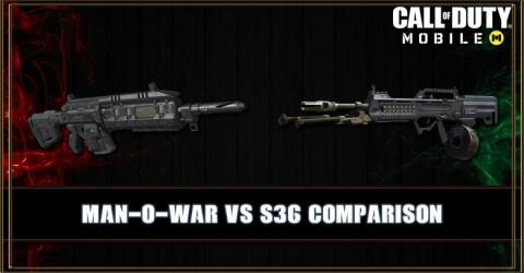 Man-O-War VS S36 Comparison