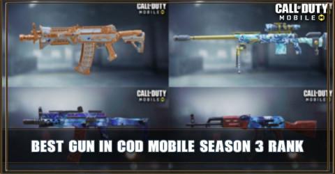 Best Gun In COD Mobile Season 3 (Rank)
