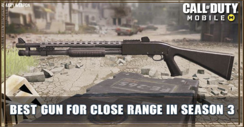 COD Mobile Best Gun For Close Range In Season 3