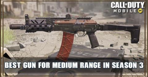 COD Mobile Best Gun For Medium Range In Season 3