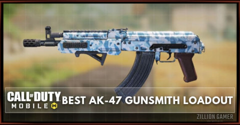 Best AK-47 Gunsmith Loadout Attachments in COD Mobile
