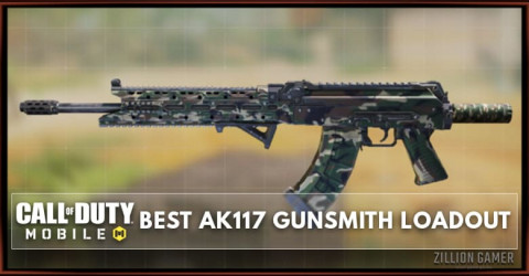 Best AK117 Gunsmith Loadout Attachments in COD Mobile