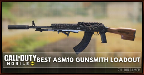 Best ASM10 Gunsmith Loadout Attachments in COD Mobile