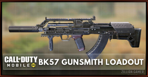 Best BK57 Gunsmith Loadout Attachments in COD Mobile