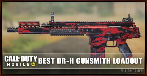 Best DR-H Gunsmith Loadout Attachments in COD Mobile