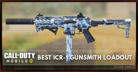 Best ICR-1 Gunsmith Loadout Attachments in COD Mobile