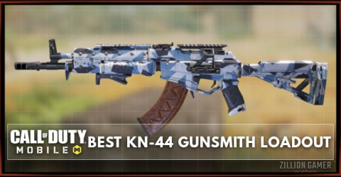Best KN-44 Gunsmith Loadout Attachments in COD Mobile