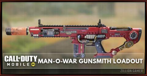 Best Man-O-War Gunsmith Loadout Attachments in COD Mobile