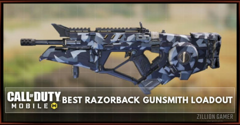 Best Razorback Gunsmith Loadout Attachments in COD Mobile
