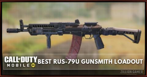 Best RUS-79U Gunsmith Loadout Attachments in COD Mobile