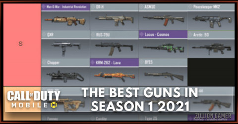 The Best Gun in COD Mobile Season 1 New Order Tier List