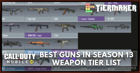 Best Gun in COD Mobile Season 13 Tier List