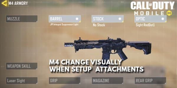 COD Mobile Gunsmith Atttachments Change Weapons Visually | zilliongamer