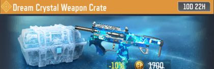 COD Mobile Dream Crystal Weapon Crate Information - zilliongamer