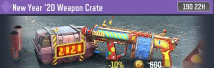 COD Mobile New Year'20 Weapon Crate Information - zilliongamer