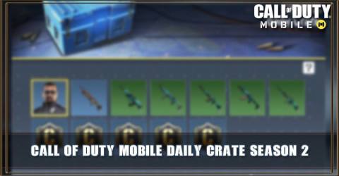 Daily Crate Season 2 Items & Odds