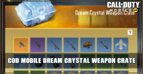 Dream Crystal Weapon Crate Items & Odds