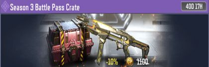 COD Mobile Season 3 Battle Crate Information - zilliongamer