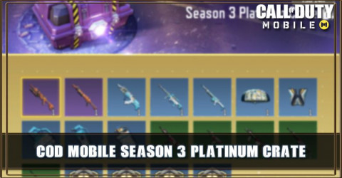 Season 3 Platinum Crate Items & Odds