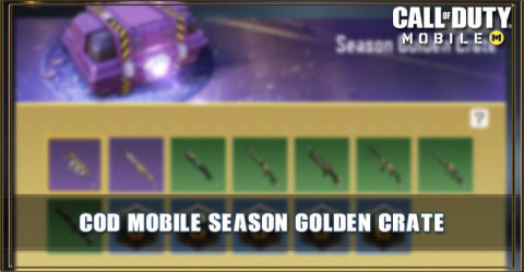 Season Golden Crate Items & Odds