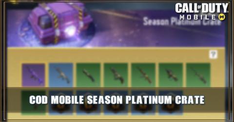 Season Platinum Crate Items & Odds