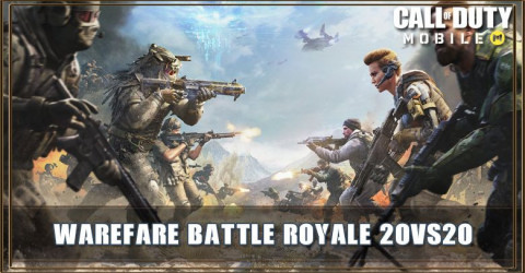Battle Royale Warfare 20vs20 Gamemode