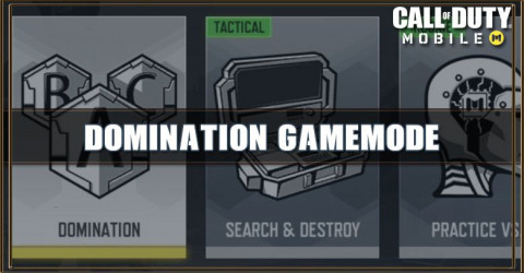 COD Mobile Domination Gamemode