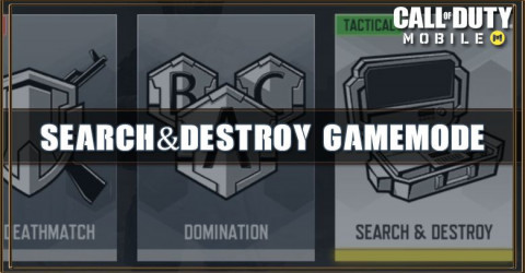 COD Mobile Search & Destroy Gamemode