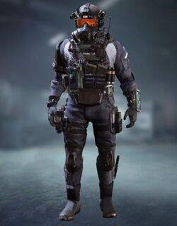 COD Mobile character: Elite PMC