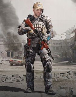 COD Mobile character: Special Ops 3