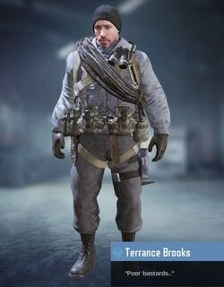 COD Mobile character: Terrance Brooks