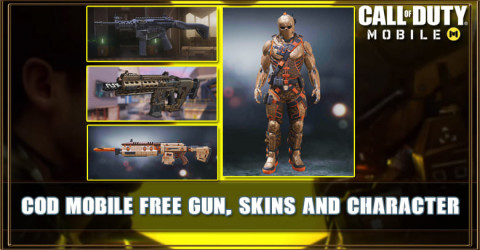 COD Mobile Free Gun, Character and Skin List