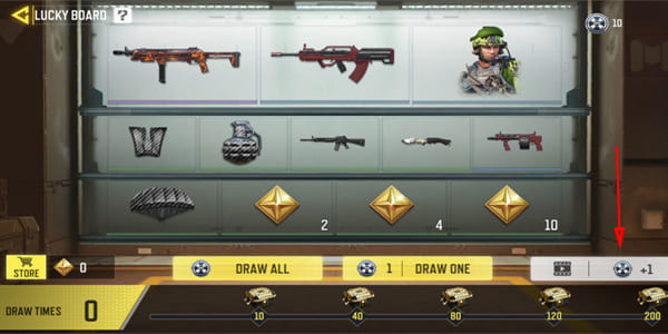 Get Free Draw coin for COD Mobile Free Lucky Draw - zilliongamer