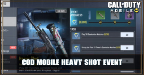 COD Mobile Heavy Shot Event: Get Free KN-44 and Prophet Sight