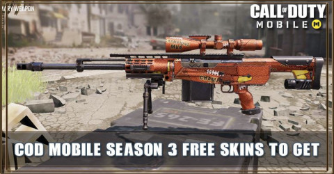 COD Mobile Season 3 Free Skins - Get These Skins For Free