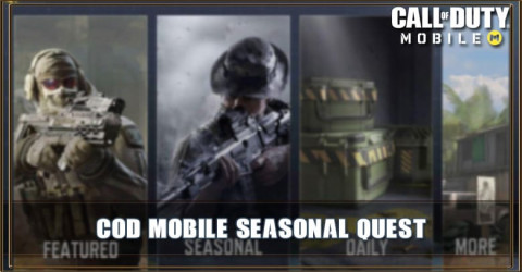 COD Mobile Season 6 Seasonal Quest: Unlock Pharo, Locus, and Character