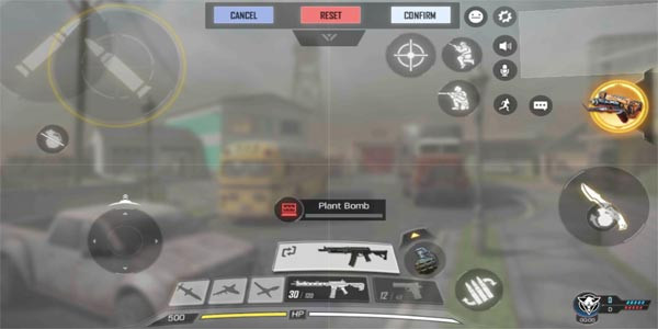 Control Layout: Claw Control | Call of Duty Mobile - zilliongamer your game guide