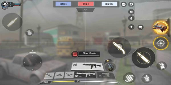 Control Layout: Two Thumbs | Call of Duty Mobile - zilliongamer your game guide